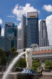 Singapore symbol Merlion Stock Photography