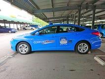 Singapore: Taxi Arkivfoton