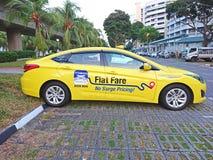 Singapore: Taxi Royaltyfri Bild