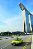 Singapore taxi cab Stock Photos