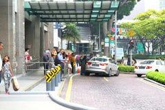 Singapore Taxi Royalty Free Stock Photo