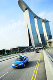 Singapore taxi Royalty Free Stock Image