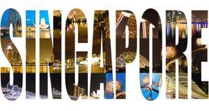 Singapore images Stock Photo