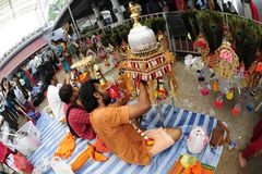 Singapore Thaipusam Festival Stock Images