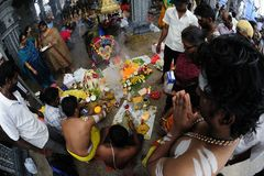 Singapore Thaipusam Festival Royalty Free Stock Images