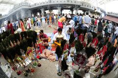 Singapore Thaipusam Festival Stock Photography