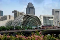 Singapore: Theatres on the Esplanade Stock Photos