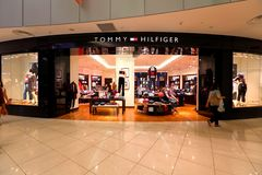 Singapore: Tommy Hilfiger. 1 of the few Tommy Hilfiger  retail store in Singapore Stock Photography