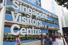 Singapore tourism Stock Photo