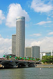 Singapore Tourism City Skyline Stock Photos