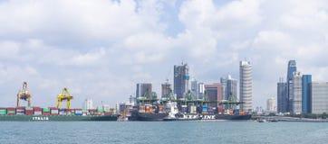 Singapore Trade Stock Image