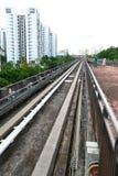 Singapore: Transito della ferrovia leggera (LRT) Immagini Stock Libere da Diritti
