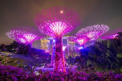 Singapore travel concept, landmark and popular for tourist attractions royalty free stock photos