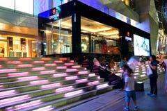 Singapore: Tudor emblematische pop-up opslag Royalty-vrije Stock Foto