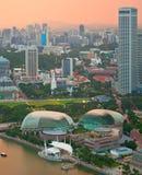 Singapore at twilight Royalty Free Stock Images