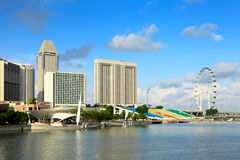 Singapore under dagtid Arkivbilder