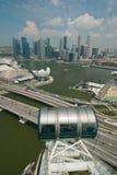 Singapore unique skyline Royalty Free Stock Images