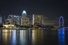 Singapore upper view Royalty Free Stock Photos