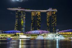 Singapore upper view Royalty Free Stock Photography