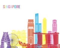 Singapore V2 skyline pop Stock Image