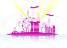 Singapore vector illustration Royalty Free Stock Photo