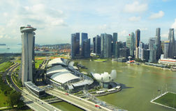 Singapore. View from the Ferris wheel Stock Images