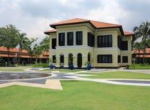 Singapore Villa Building Stock Image