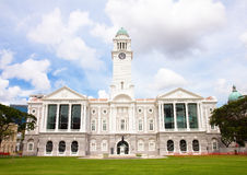 Singapore Vitoria Memorial Hall Royaltyfria Bilder