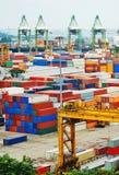 Singapore warehouse royalty free stock photography