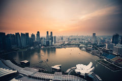 Singapore waterfront Royalty Free Stock Photography