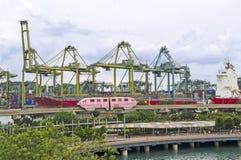 Singapore Waterfront Royalty Free Stock Photo