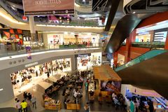 Singapore : Waterway Point shopping centre Royalty Free Stock Photography