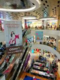 Singapore : Waterway Point shopping centre Stock Images