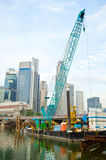 Singapore works Royalty Free Stock Photography
