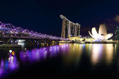 Singapore is the world's fourth leading financial centre Royalty Free Stock Images
