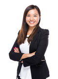 Singaporean businesswoman portrait Stock Image