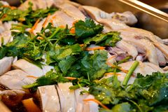 Singapore local chinese cuisine. Singaporean cuisine is diverse and contains elements derived from several ethnic groups, as a result of its history as a seaport royalty free stock images