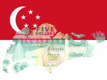 Singaporean currency Stock Photography
