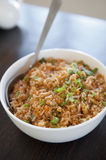 Singaporean fried rice Stock Photos