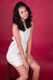 Singaporean vrouw Royalty-vrije Stock Fotografie