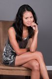 Singaporean vrouw Royalty-vrije Stock Foto's