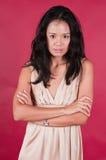 Singaporean woman Royalty Free Stock Photography
