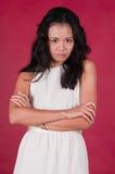 Singaporean woman Royalty Free Stock Image
