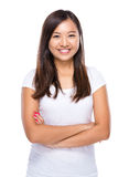 Singaporean woman portrait Stock Images