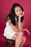singaporeankvinna Royaltyfria Bilder