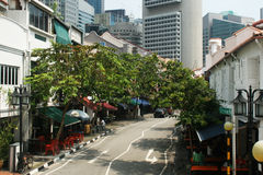 Singaporer road Stock Images