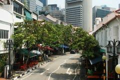 Singaporer road Stock Images