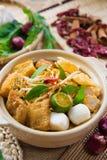 Singaporiansk currynudel Royaltyfria Foton