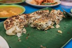 Singaporiansk lokal maträtt Arkivfoton