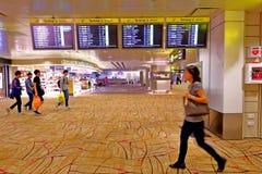 Singapour : Aéroport international de Changi Image libre de droits